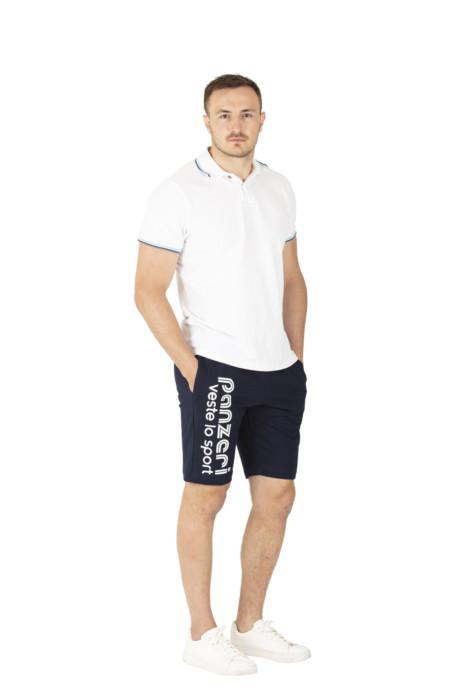 PARK B marine/blanc
