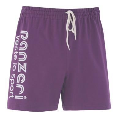 UNI A violet/blanc